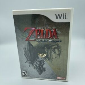 The Legend of Zelda Twilight Princess (Wii, 2006) Complete With Manual Included!