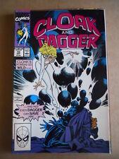 CLOAK and DAGGER n°15 1990  Marvel Comics  [SA35]