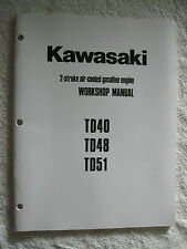 Kawasaki Td40, Td48, Td51 Gas Engine Workshop Service Repair Manual