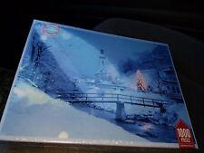 CHRISTMAS VILLAGE ~ SPRINGBOK ~ 1000 PIECE PUZZLE ~ COMPLETE,  EUC