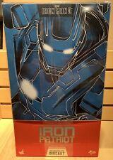 Hot Toys Iron Patriot Diecast Iron Man 3 mms195 D01 1/6 scale sealed MIB