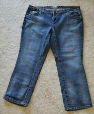 a48f78608880f L.E.I. Blue Jeans Plus Size 20 Bootcut Hiphugger Womans Pants Stretch Boot  Flare