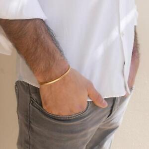 Handmade Stainless Steel Cuff Bracelet For Men - Bangle Bracelet For Men
