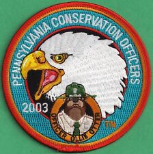Pa Fish Game Commission Pennsylvania Conservation Officers 03 Ollie Otter Patch