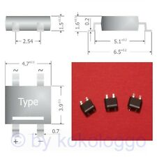 S341 - 10 unid. SMD puentes rectificadores rectificador 80v 0,8a mini-Dil carcasa