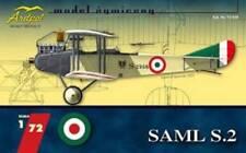 SAML S.2 - WW I RECCE-BOMBER ITALIAN PLANE (REGIA AERONAUTICA MKGS) 1/72 ARDPOL