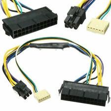 "12"" ATX Main 24-Pin to 6-Pin PSU Power Adapter Cable 18AWG HP Z220 Z230 USA SK"