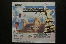 MATCH TICKET 1993 FA CUP FINAL   ARSENAL V SHEFFIELD WEDNESDAY