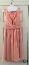 Saison Blanche bridesmaid dress, Coral, Size 10, Style Number SB2263