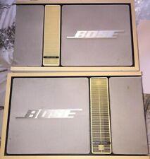 Vintage Bose 301 Music Monitor Mk2 Hifi Speakers White/cream