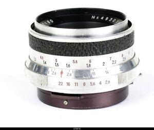 Lens Zeiss Tessar 2.8/80mm for Pentacon Six