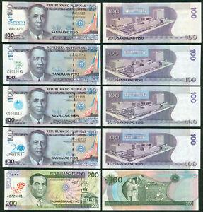 100 & 200 Peso Philippine Overprints - Ateneo Manila Hotel Iglesia, UST Starnote