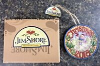 2018 Jim Shore Annual Christmas Ornament Snowman w/ Cardinal 6001500 Enesco NIB