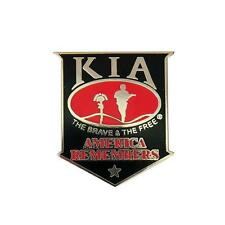 KIA America Remembers Pin 1.5 inch JACKET VEST hat  PIN