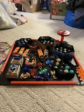 82 Bakugan In All More Than A 100 Cards And Carrying Cases And Arena Included