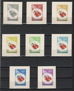 ++ 1979 Olympic Games Lake Placid 2,15 Nominal in Different Colour Thick Paper