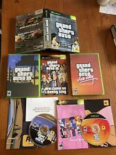 Grand Theft Auto Double Pack (Microsoft Xbox, 2003) Complete + Maps - Ships Fast