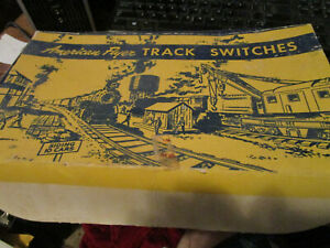 2 American Flyer Track switches in original box, new condition