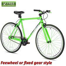 KENT FIXIE BIKE 700C  Green Men's Flip Flop Hub Cruiser City Road Bicycle NEW!