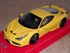 1/18 MR Collection Ferrari 458 Speciale in Giallo Modena Special Edition