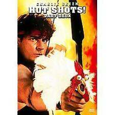 Hot Shots Part Deux (DVD, 2006, Widescreen Sensormatic) Brand New Charlie Sheen