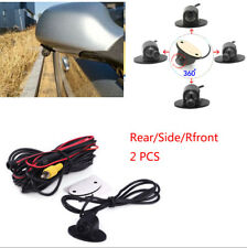 Adjuatable 360° Waterproof Car Side Rear View Reverse Backup Camera Parking Kit