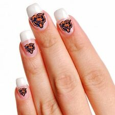 NFL Chicago Bears Temporary Fingernail Tattoos  02 SETS of 10 tattoos each one