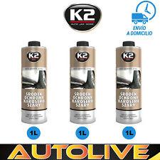 x3 Antigravilla Color GRIS 1L , Protector bajos de coche, para pistola