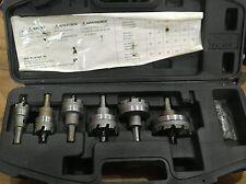 Ideal Hole Saw Kit 6 Piece Carbide Tipped TKO Cutter Drill Driver Bit Bits Set