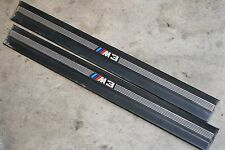 BMW E36 M3 Door Sills Entry Scuff Plate Trim Black Coupe or Convertible Only