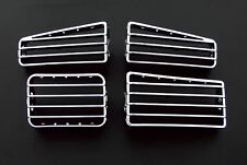 VW Golf MK3 3 MK4 4 RHD Cabriolet Chrome Dash Board Air Flow Heater Vents Grates