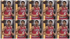 (10) 2008-09 Upper Deck 20th Anniversary #UD-8 Julius Erving Basketball Card Lot