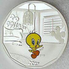 Canada 2015 $20 Tweety Bird Looney Tunes 1 oz. 99.99% Pure Silver Color Proof