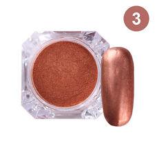 Nail Art Matte Effect Powder Glitter Pigment for Manicure Acrylic Tips #3 2g/box