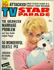 Donna Douglas cover TV Star Parade magazine 1964 The Beatles 50 photos Animals