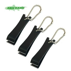 Pack of 3 MDI Game Fly Coarse Fishing Black Nipper with Chain & Eye Cleaner
