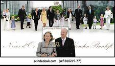 BELGIUM - 2009 50th ANNIV. OF REIGN OF KING ALBERT SG#MS4259 MIN/SHT MNH