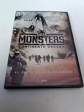 "DVD ""MONSTERS CONTINENTE OSCURO"" PRECINTADO SEALED TOM GREEN JOHNNY HARRIS"