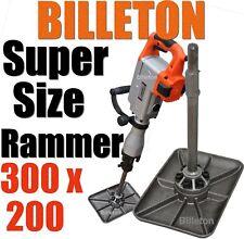 Jack Hammer SuperSize Compactor Rammer Plate. Tamper. Packer. Landscaper Builder