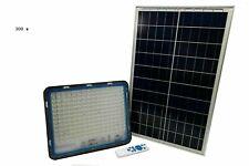 Faro Energia Solare LED 300w con Pannello Faretto crepuscolare Telecomando