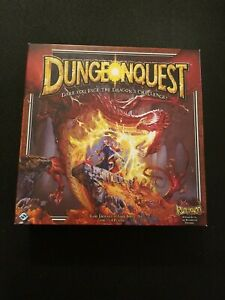 DungeonQuest 3rd Edition Fantasy Flight Games