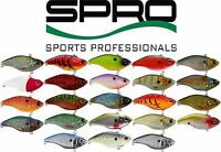 Spro Aruku Shad 75 Bass, Walleye, Trout Fishing Lure Bait