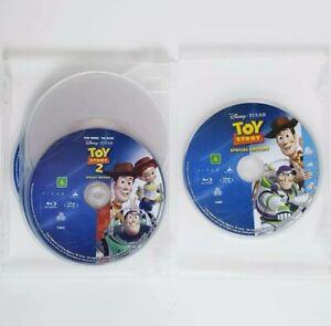 5 x Blu-Ray Kids Movie Bundle Toy Story 1 + 2 + 3 + Finding Nemo + Snow White
