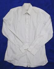 "Camisa "" PRADA"" Talla 42  - 16 1/2  color blanco mangas largas ( envios comb)"