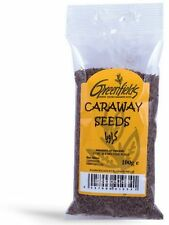 Caraway Seeds - Whole Seeds - 100g Bag - Greenfields