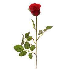 Artificiale PREZIOSI Rose Bud rosso Mazzo di 12 Steli 58cm / 23 pollici
