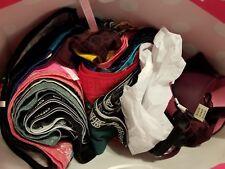 10 piece lot Victoria Secret PINK Panties underwear Medium boy short, cheekster