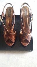 Baby Phat Leopard print heels Size 9