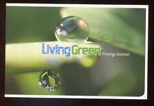 Australia - 2008 - $10.95 Prestige Booklet - Living Green