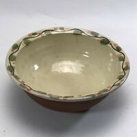 Vintage Studio Pottery Bowl : Hand Painted / Made Collectable <HM04